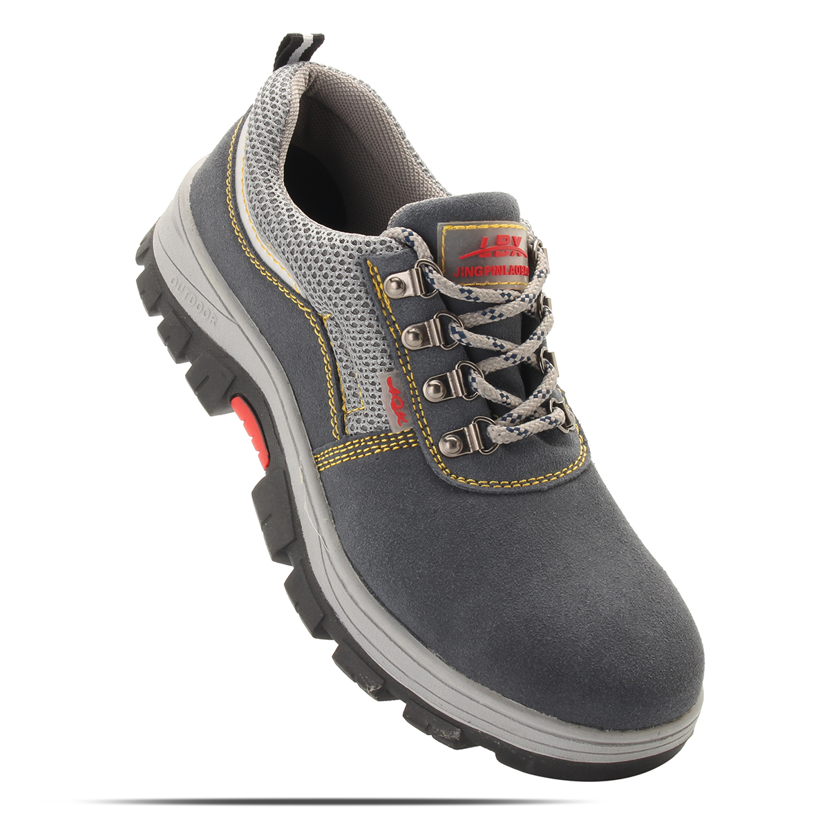 df62f3b4003 TENGOO Outdoor Mens Safety Shoes Summer Breathable Steel Toe Work Boots  Hiking Climbing Working Shoes