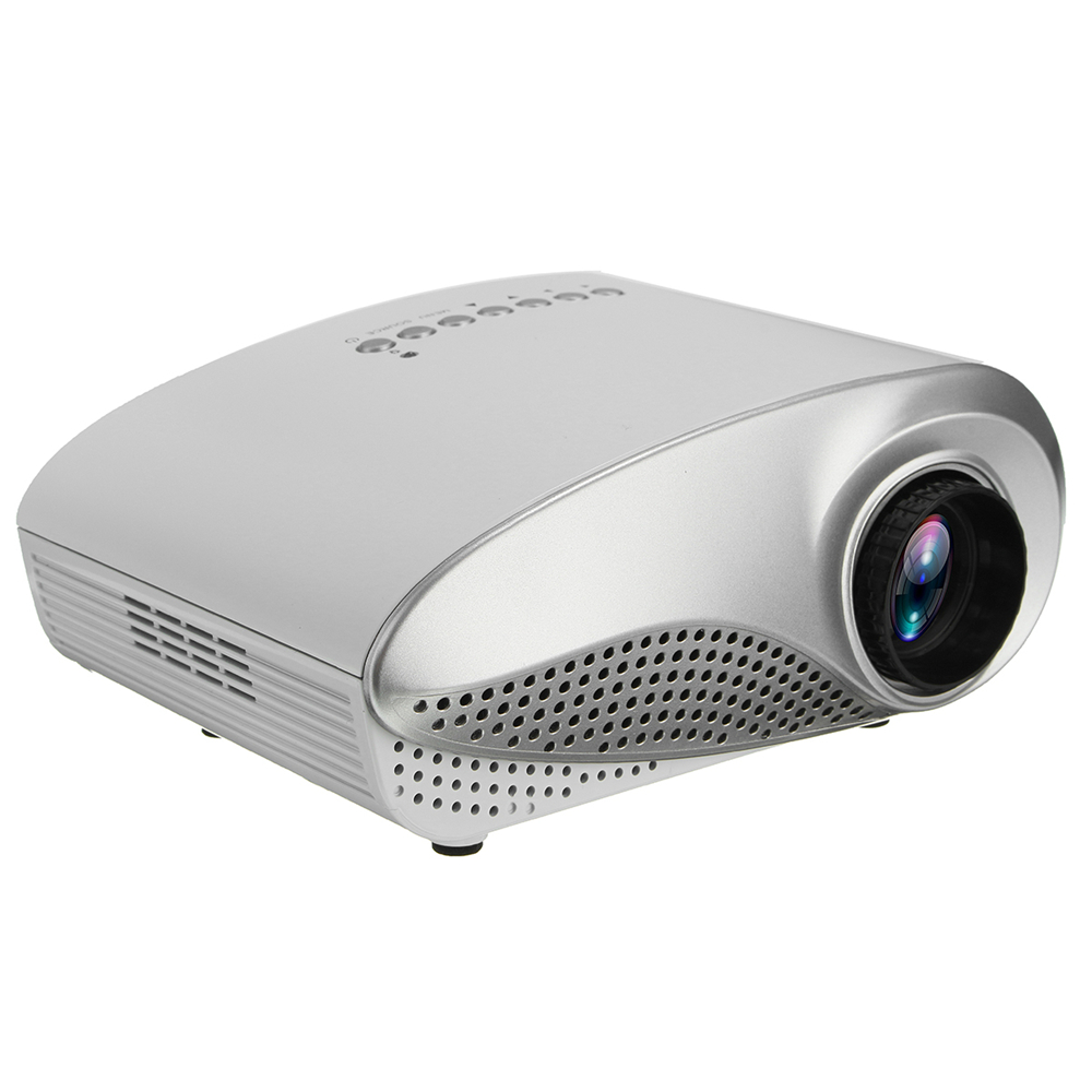 3D 1080P Portable LCD LED Mini Projector 600 Lumens 480
