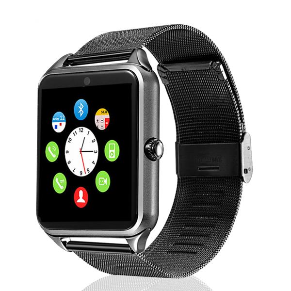 Z601.54-дюймовый шагомер Сидячее напоминание TF карта GSM камера Bluetooth Смарт часы для iOS Android