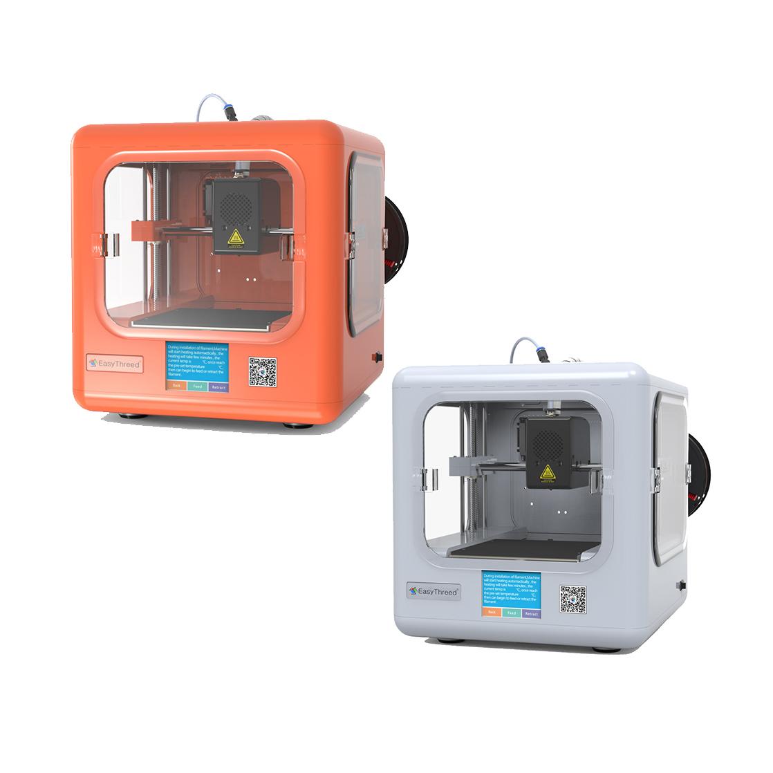 Easythreed®ET-4000+Настольныймини-3D-принтер2,8-дюймовый LCD с сенсорным экраном 120 * 120 * 120 мм Размер печати