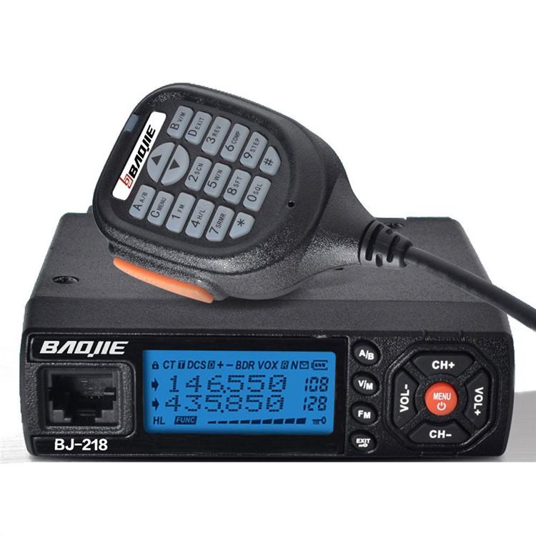 BaoJieBJ-21825ВтМобильныйРадио УКВ УВЧ 136-174 400-470 МГц Ветчина Радио Авто Walkie Talkie Long Range