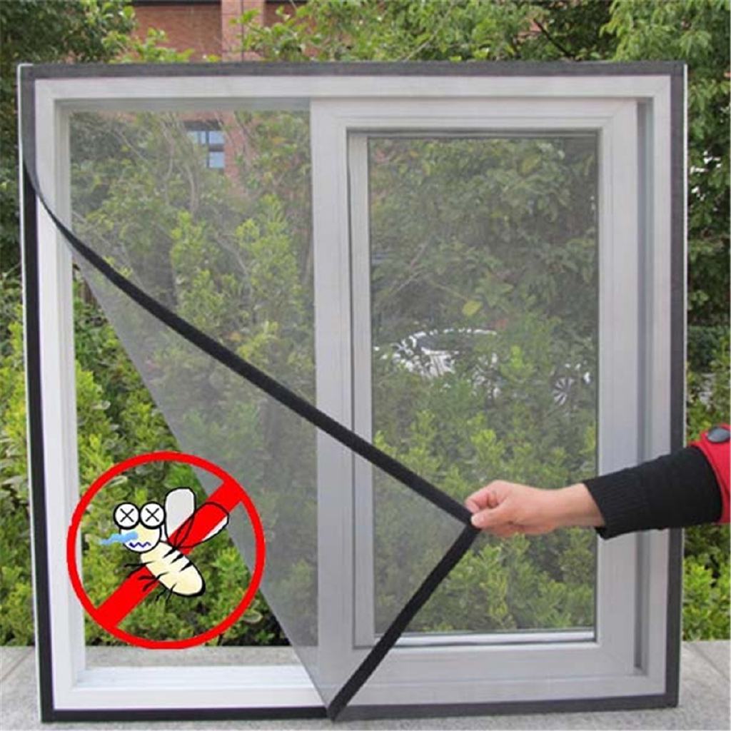 Anti-Insect Fly Bug Mosquito Window Door Curtain Net Mesh Screen Protector Film