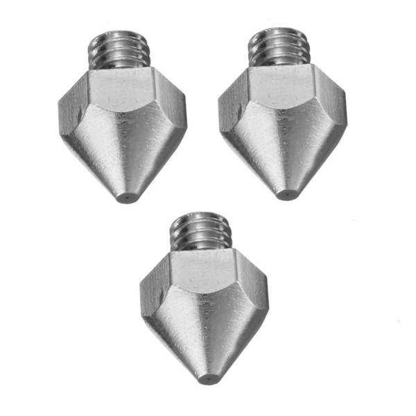 3Pcs 0.2mm Nozzle for 1.75mm Filament 3D Prin