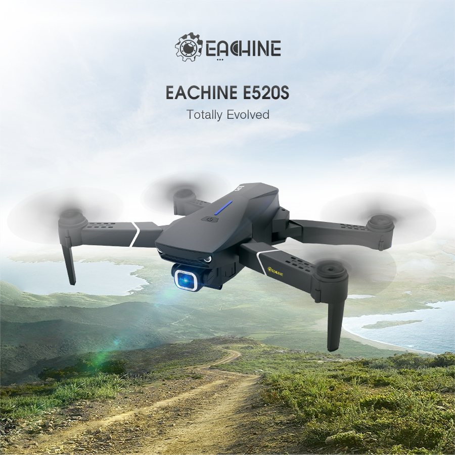 e5ea932a e85b 4a80 820d 7a4505d6a546 - Eachine E520S GPS WIFI FPV with 5G WIFI4K 16分 飛行 無人機