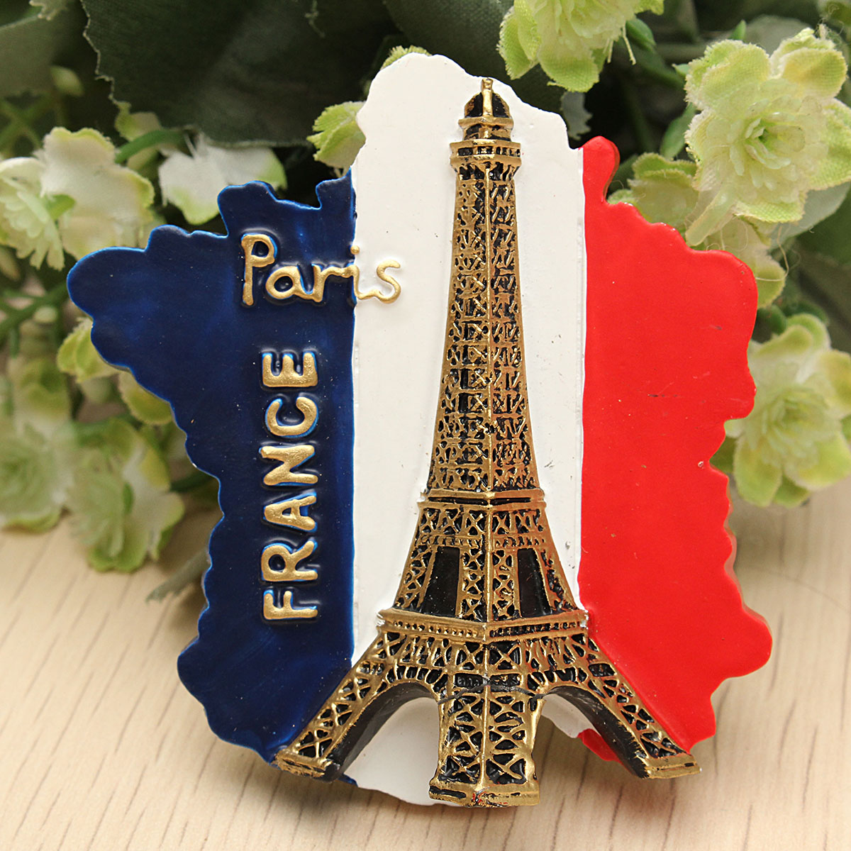 2fdc3caddcb4 tourist souvenir favorite travel resin 3d fridge magnet eiffel tower ...