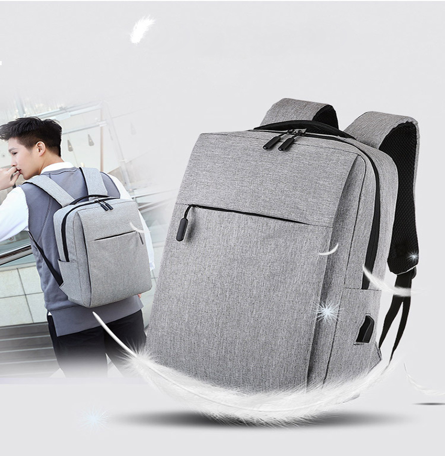 Mi Backpack Classic Business Backpacks 17L Capacity Students Laptop Bag Men Women Bags For 15-inch Laptop 15