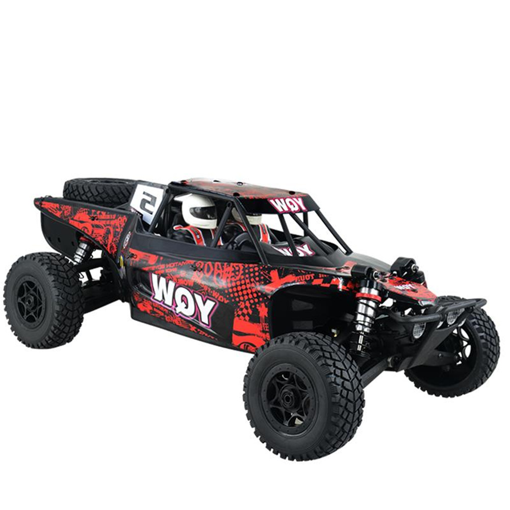 YQW 1/8 2.4G 4WD Rc Car Frame Off-Road Desert Truck Model without Electronic Parts