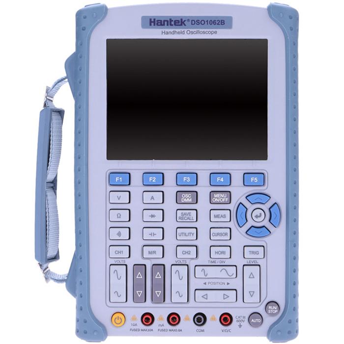 HantekDSO1062B2in1Handheld Осциллограф 2 канала 60MHZ Частота дискретизации 1GSa / с 1M Глубина памяти 6000 Counts Multimter DMM с аналоговым барграфом