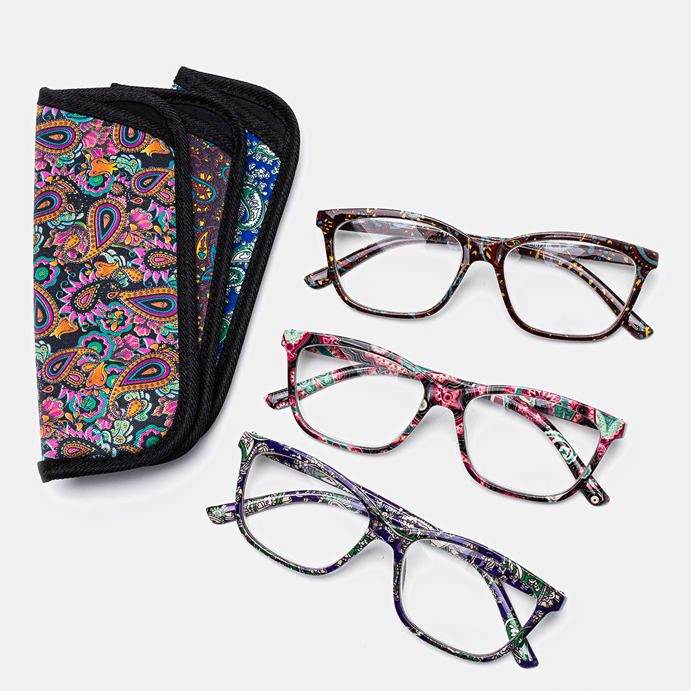 With Bag Unbreakable Best Reading Glasses
