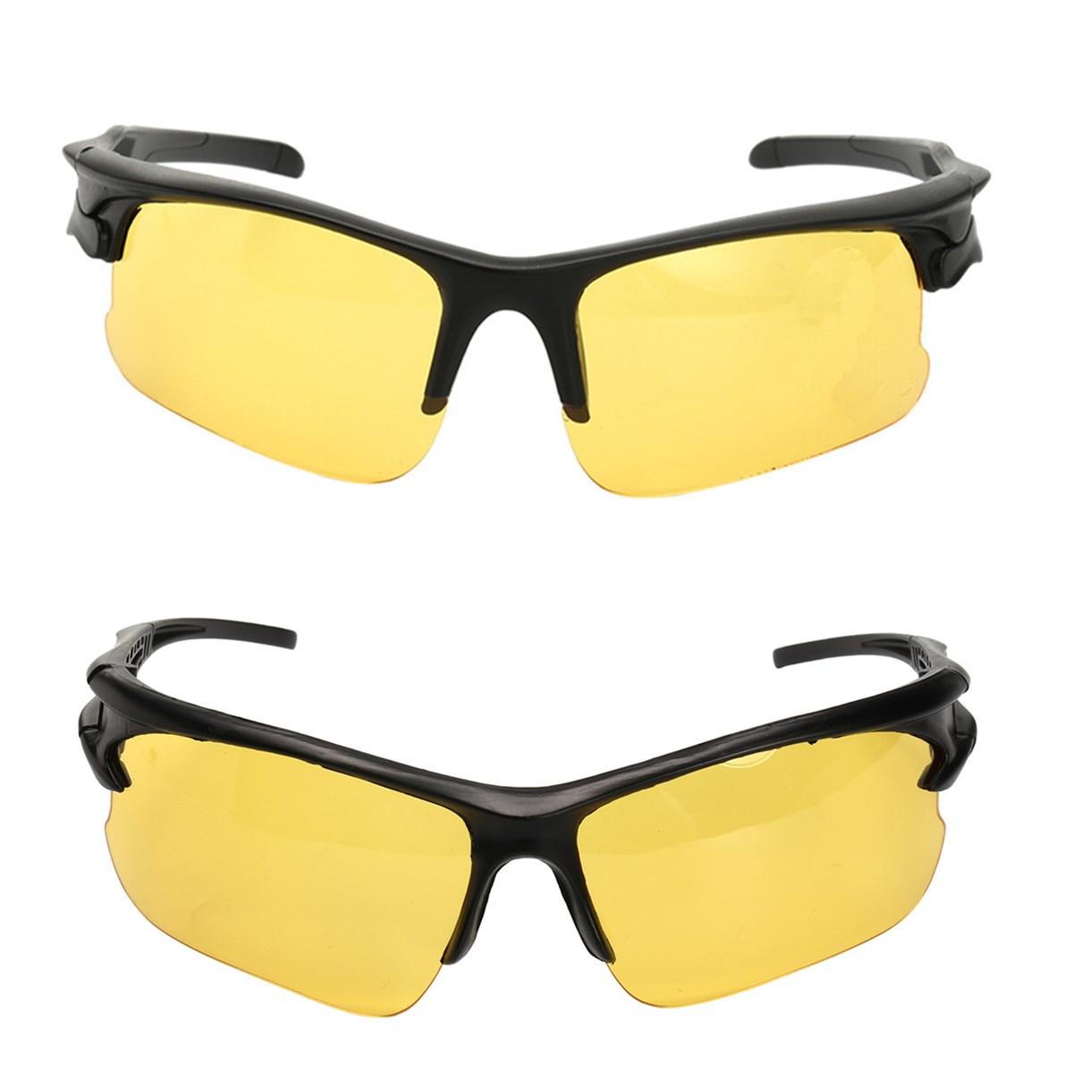 Антибликовые TAC водяные очки с желтым объективом Солнцезащитные очки Ночное видение Поляризованные Очки