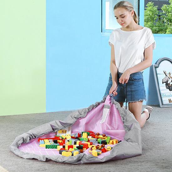 Портативный коврик для полотенец Toy Oxford Складное хранение Сумка Финишное оформление пучков штрих-кодов Органайзер