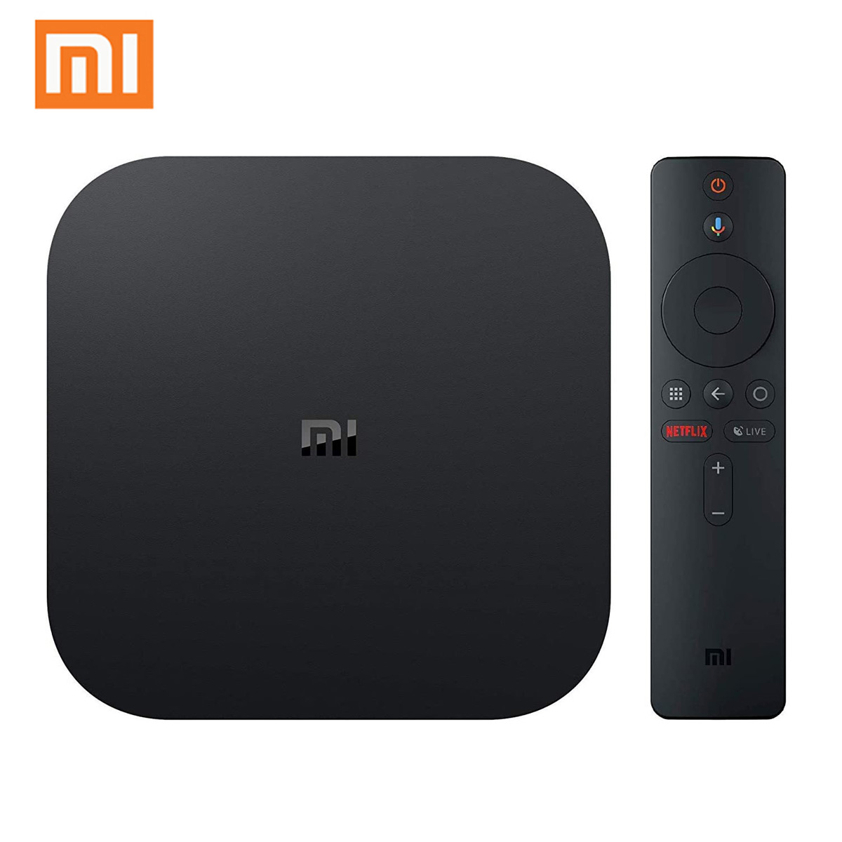 Xiaomi Mi Box S 2GB DDR3 8GB 4K Ultra HD HDR Android 9.0 5G WIFI bluetooth 4.2 TV Box Streaming Media Player with Voice Control Global Version – EU