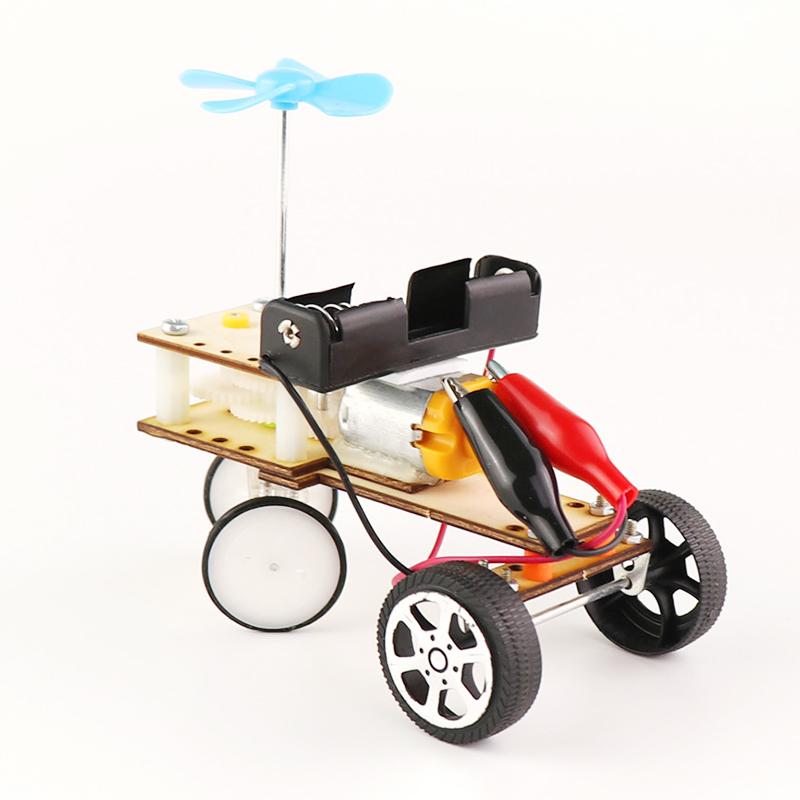 DIY Образовательные Механический Предотвращение препятствий Авто Научные изобретения игрушки