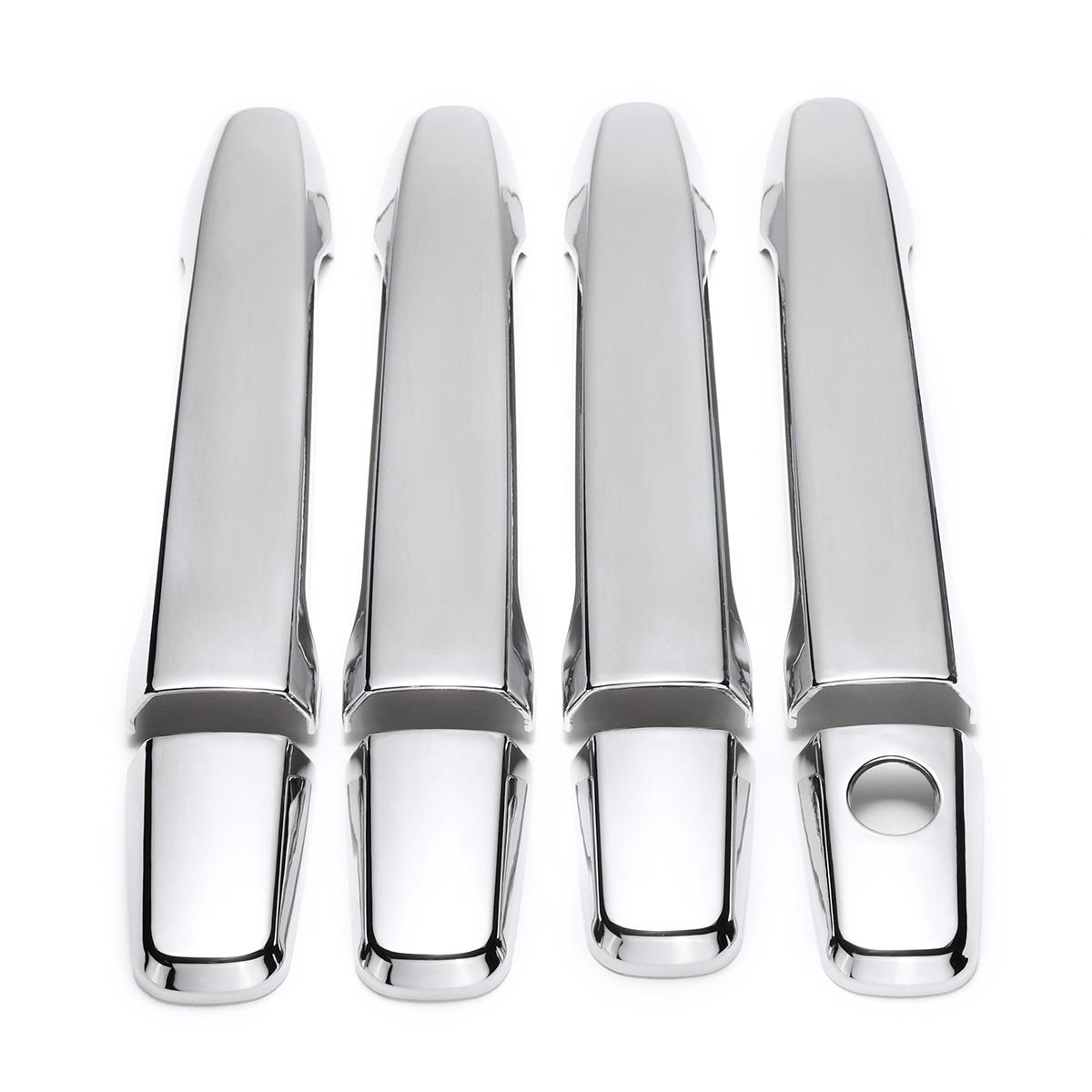 8шт.НаборABSХром4дверных ручки Чехлы для Mitsubishi Outlander Lancer Sedan Evo