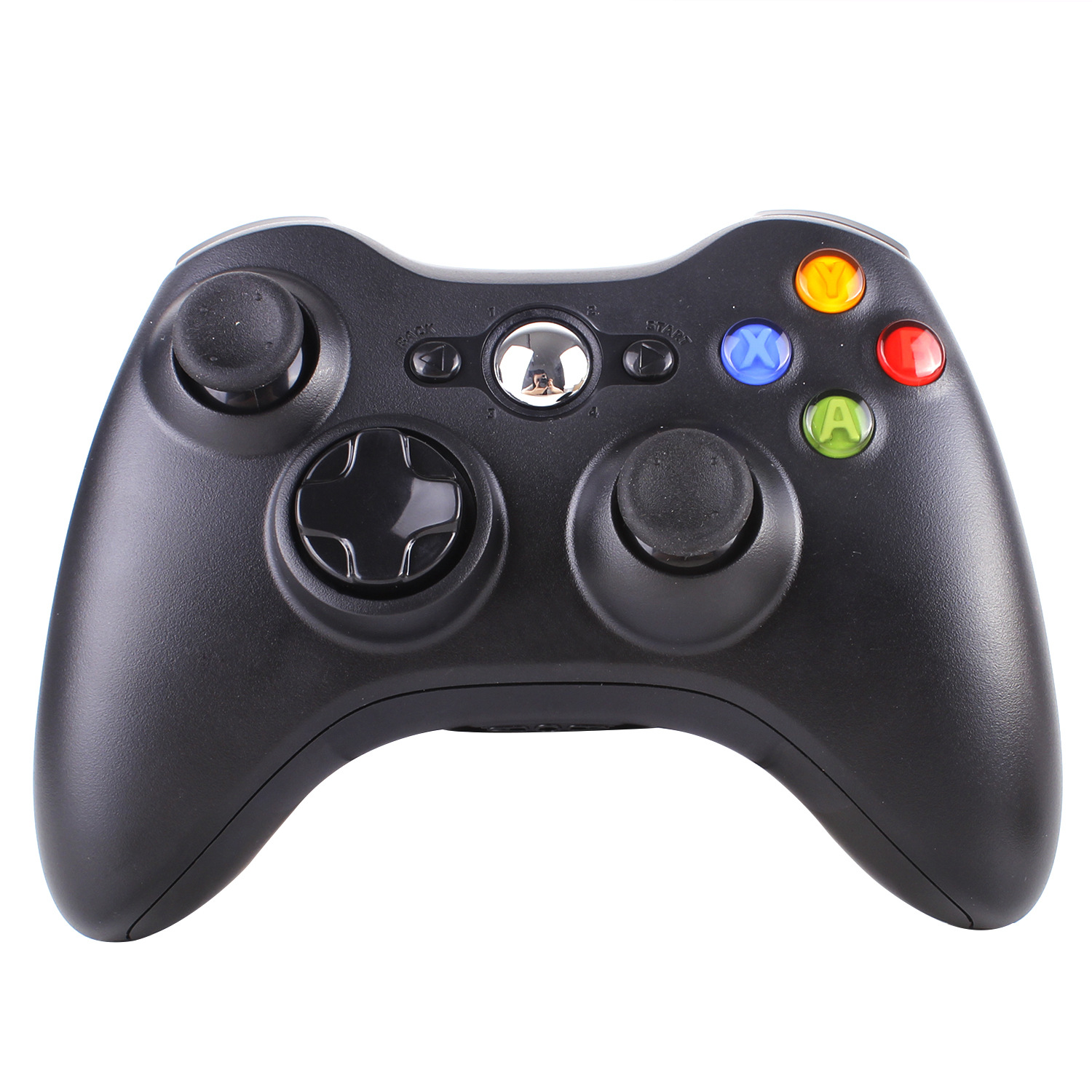 DATA FROG 2.4GHz Wireless Dual-motor Vibration Feedback Game Controller Joystick Gamepad for Xbox 360 PS3 PC