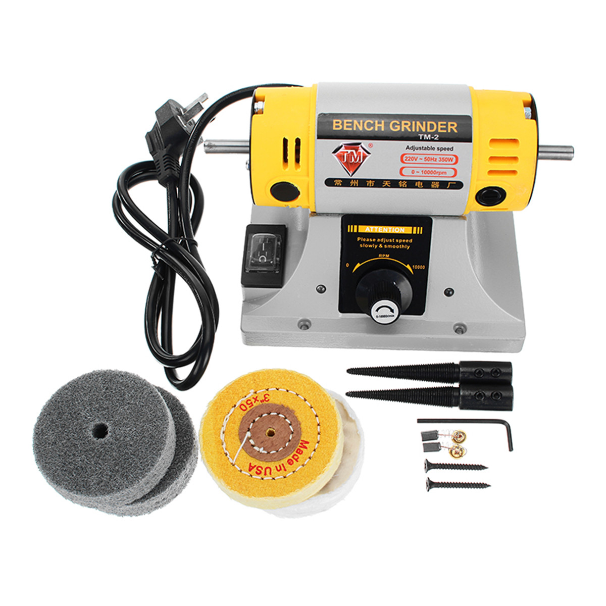 Marvelous 220V Adjustable Speed Mini Polishing Machine For Dental Jewelry Motor Lathe Bench Grinder Kit Gmtry Best Dining Table And Chair Ideas Images Gmtryco