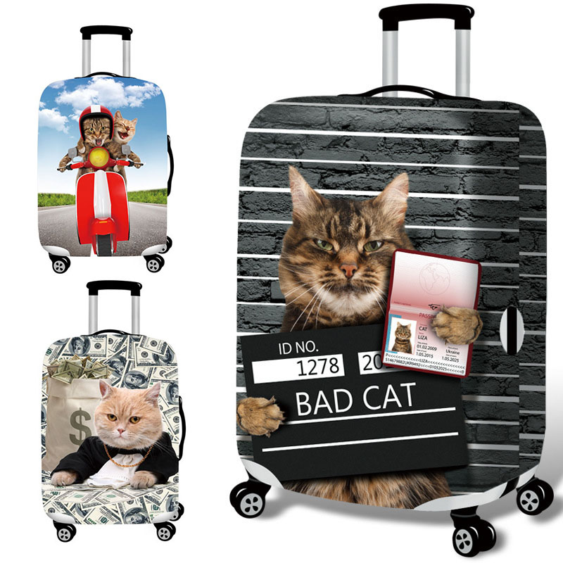 M 8 New HN-LB03 Luggage Cover Elasticity Trolley Dustproof Suitcase Bag Travel Suitcase Protector Cover