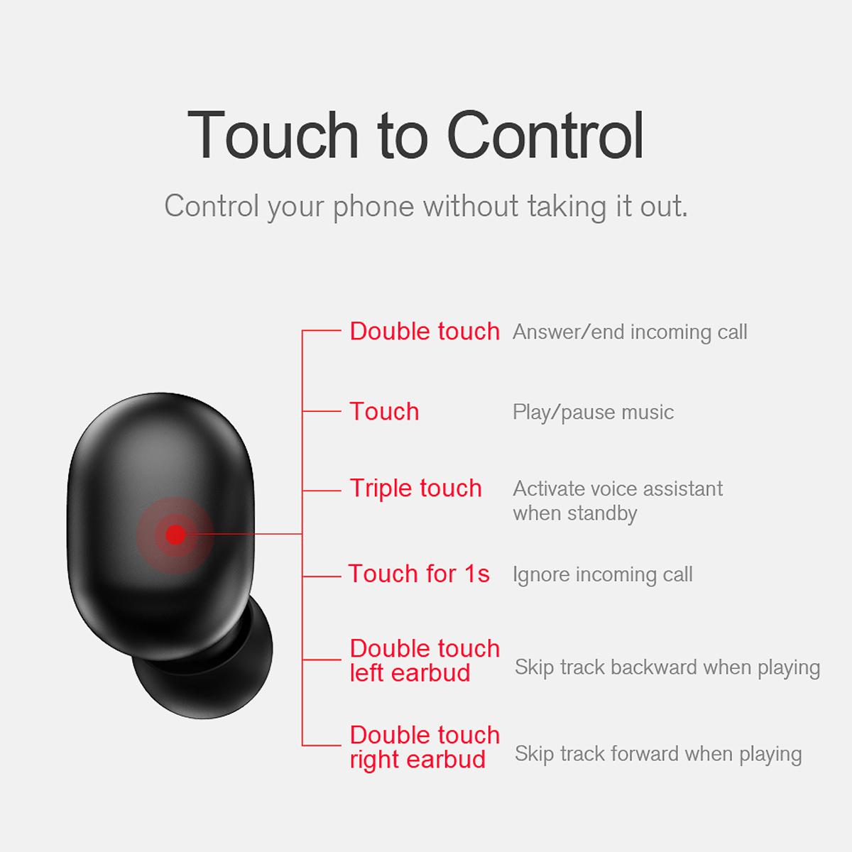 Haylou GT1 TWS True Wireless Noise Cancelling Earphones 9
