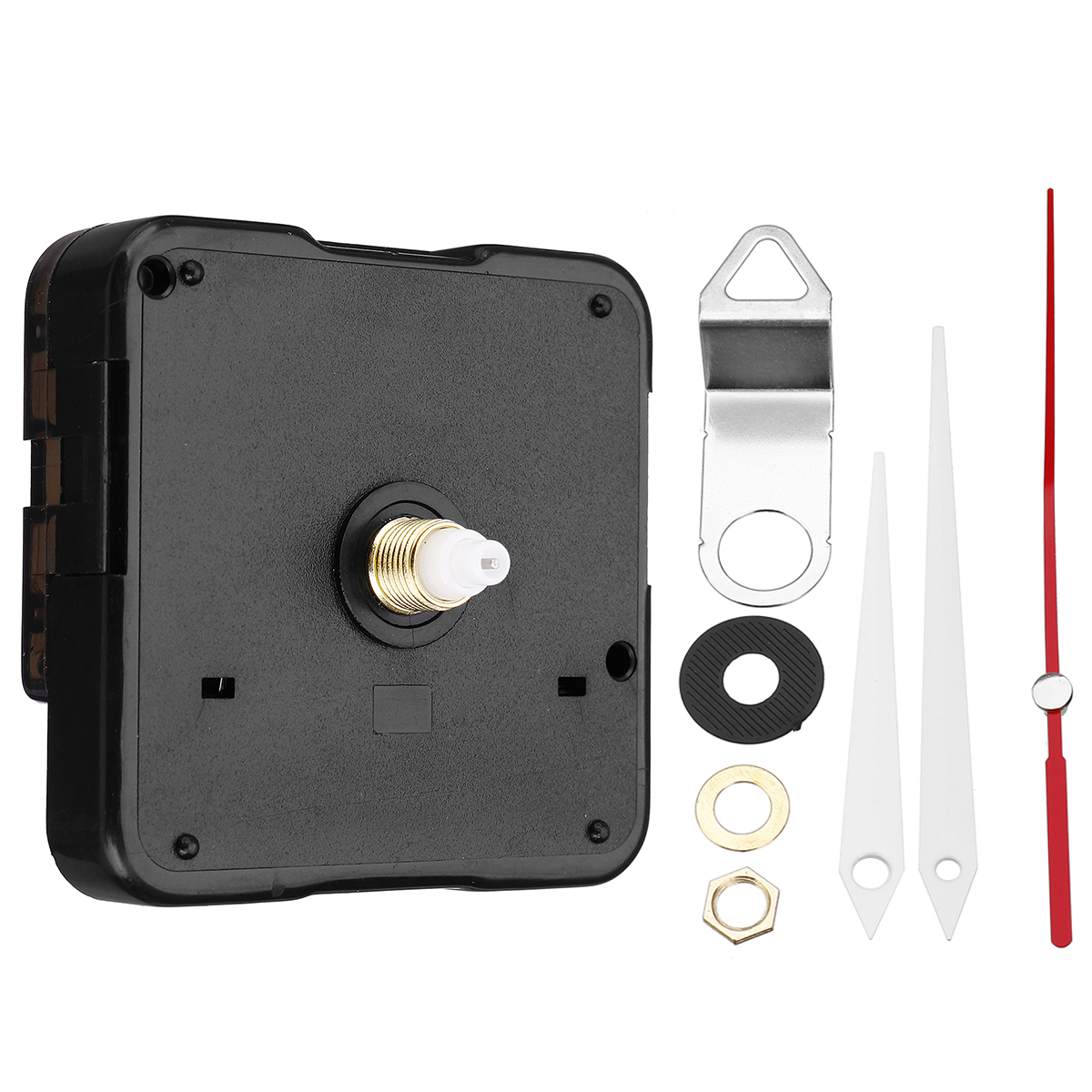 21mm Quartz Silent Clock Movement Kit Hour Minute Second Without Battery