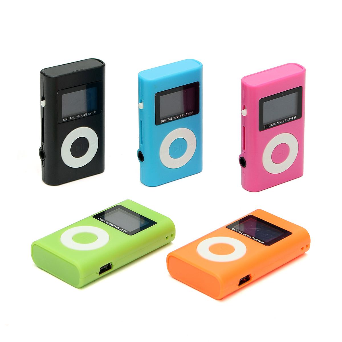 Мини USB MP3 Музыкальный проигрыватель плеер медиа LCD поддержки экрана 32GB Micro SD TF слот для карт памяти