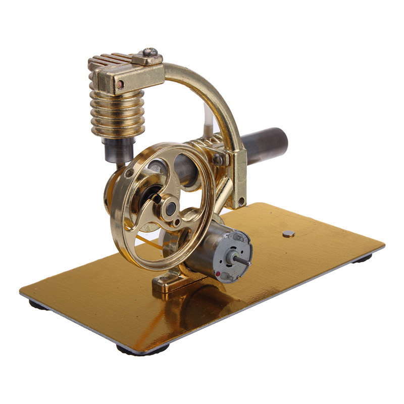 Metal Steam Engine Stirling Engine Model Generator With
