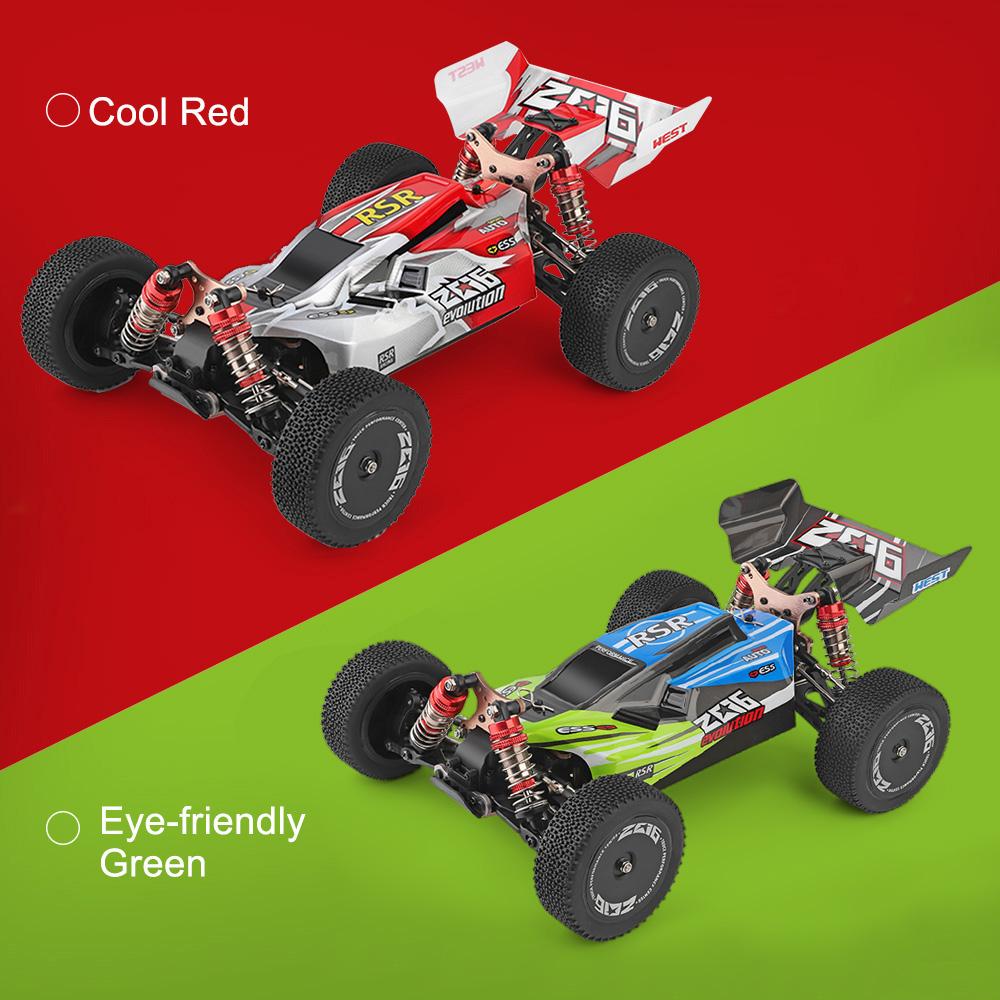 7b56072d 668c 42e9 8262 4d40b32feaf0 Wltoys 144001 1/14 2.4G 4WD High Speed Racing RC Car Vehicle Models 60km/h Two Battery 7.4V 2600mAh