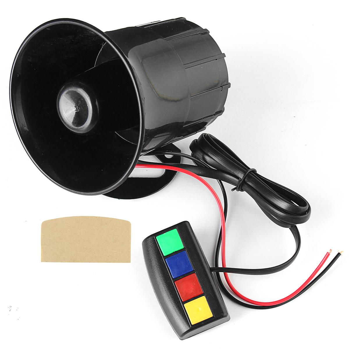 Звук Громкий 110дБ 30 Вт 12В Сигнализатор пожарной сигнализации Сирены для Авто мотоцикл RV