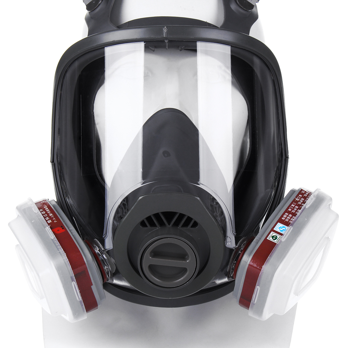 15 in 1 Full Face Gas Mask Facepiece Respirator Painting Spraying Mask 6800 Dust 20