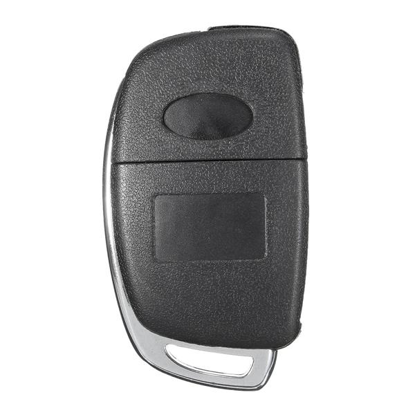 Car Remote Key Case Fob 3 Button Flip Key Shell Left Fold for Hyundai Santa Fe 13-14 PG180A