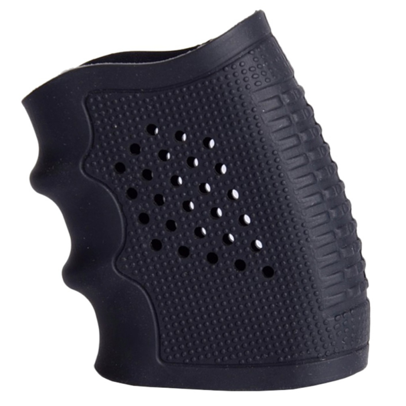 Hunting Tactical Anti-Slip Handgun Rubber Protect Cover Grip Glove Holster For Glock