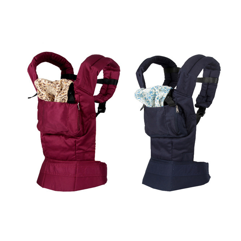 Новорожденные младенческие переноски для младенцев Breathable Comfort Sling Wrap Хлопок рюкзак