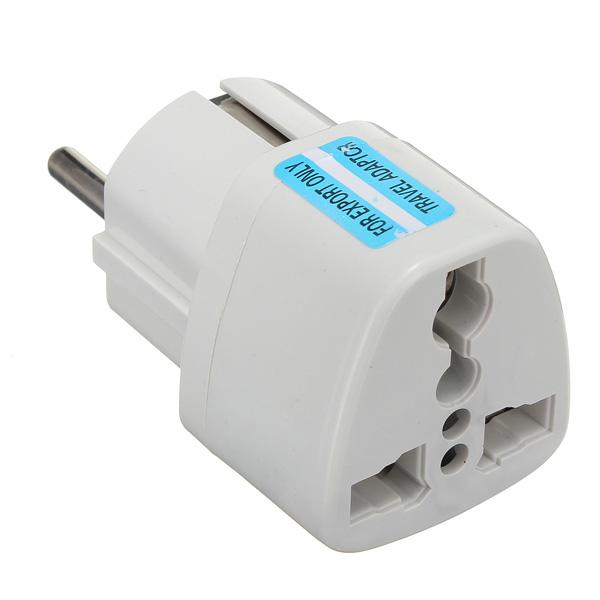 Универсальный AU US UK для EU Europe Plug AC 250V Power Adapter Plug
