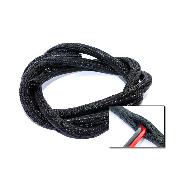 1m Nylon Weave Motor Wire Cable Protective Tube for FPV Racing RC Drone
