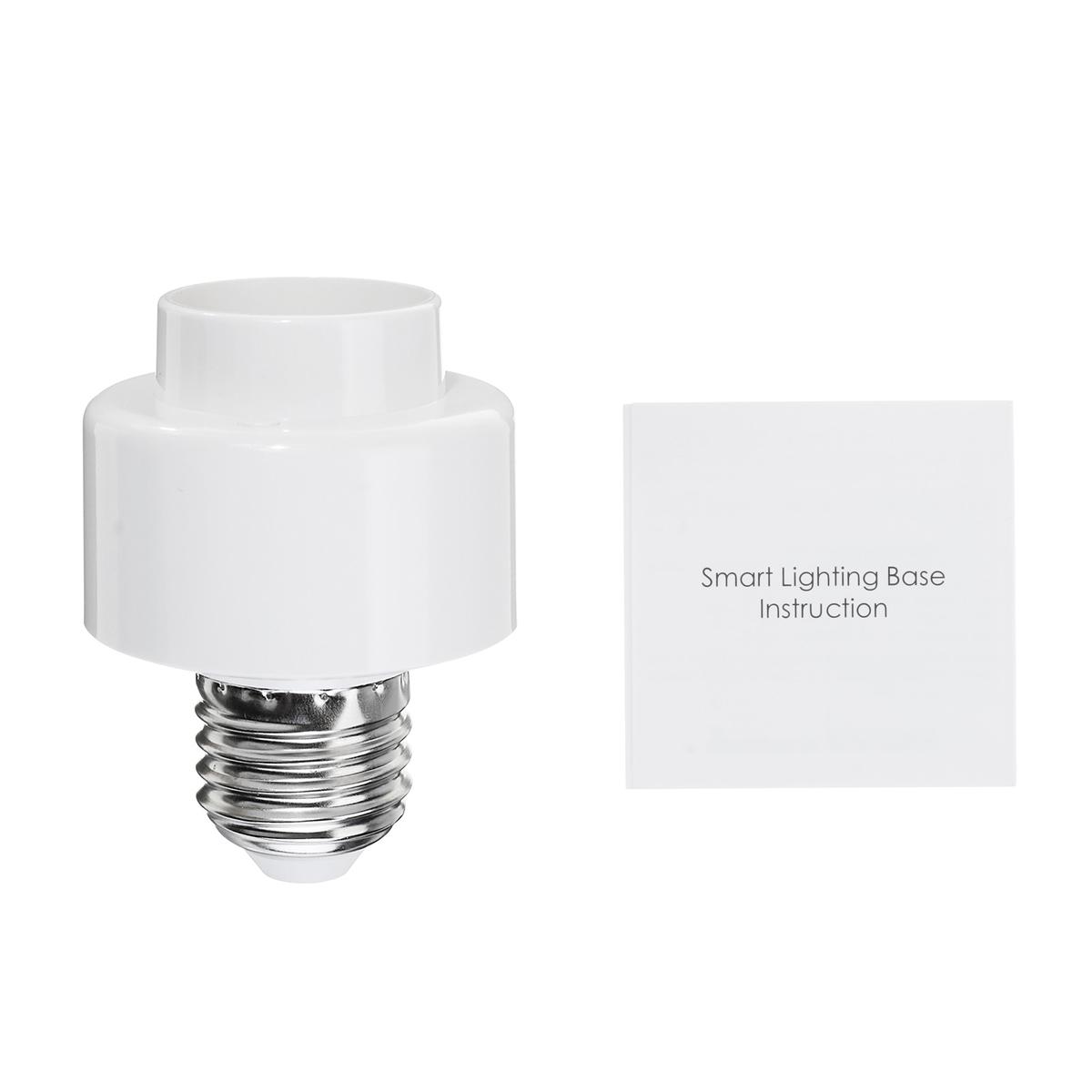 AC100-250V E27 Smart WiFi Light Разъем Конвертер лампочек работает с Alexa Google Home