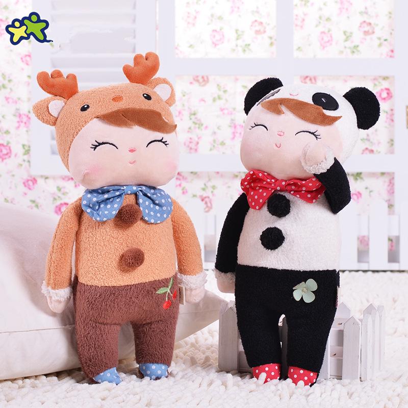 Плюшевые игрушки Кролик Животные Анжела Пакет Dreaming Girl Розовый Фаршированные игрушки