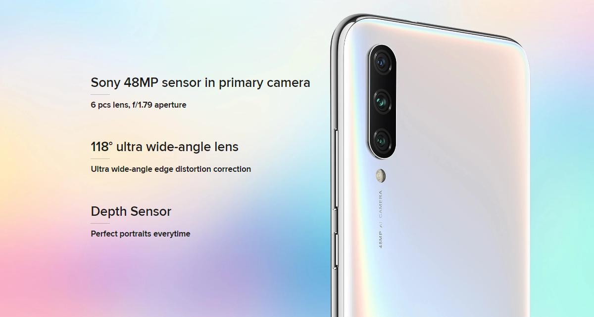 Xiaomi Mi A3 Global Version,Xiaomi Mi A3,Snapdragon 665 Octa core,48MP Triple Rear Camera