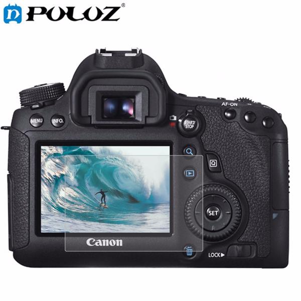 PULUZ камера 2.5D Curved Edge 9H Поверхностная твердость с закаленным стеклом Защитная пленка для Canon 6D