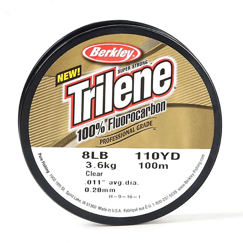 Lignedepêchedefluorocarbonede Berkley 100M 1.2 # 3.0 # 3.5 # Ligne de pêche de qualité professionnelle de Fluoro