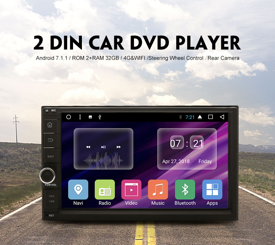 JUNSUN T362B Car DVD Player With GPS Navigation And Mirror Link For HYUNDAI  Verna