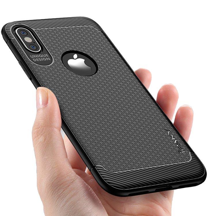 iPakyАнтиЗащитныйотпечатокпальцаЧехол Для iPhone X Soft Рассеяние тепла ТПУ Анти Knock