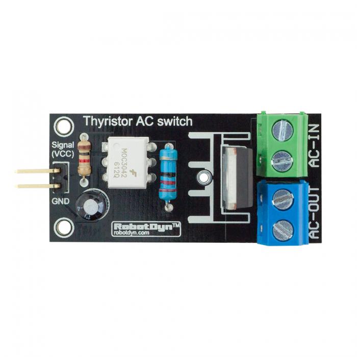 robotdyn� thyristor ac switch relay module 3 3v/5v logic ac 220v/5a