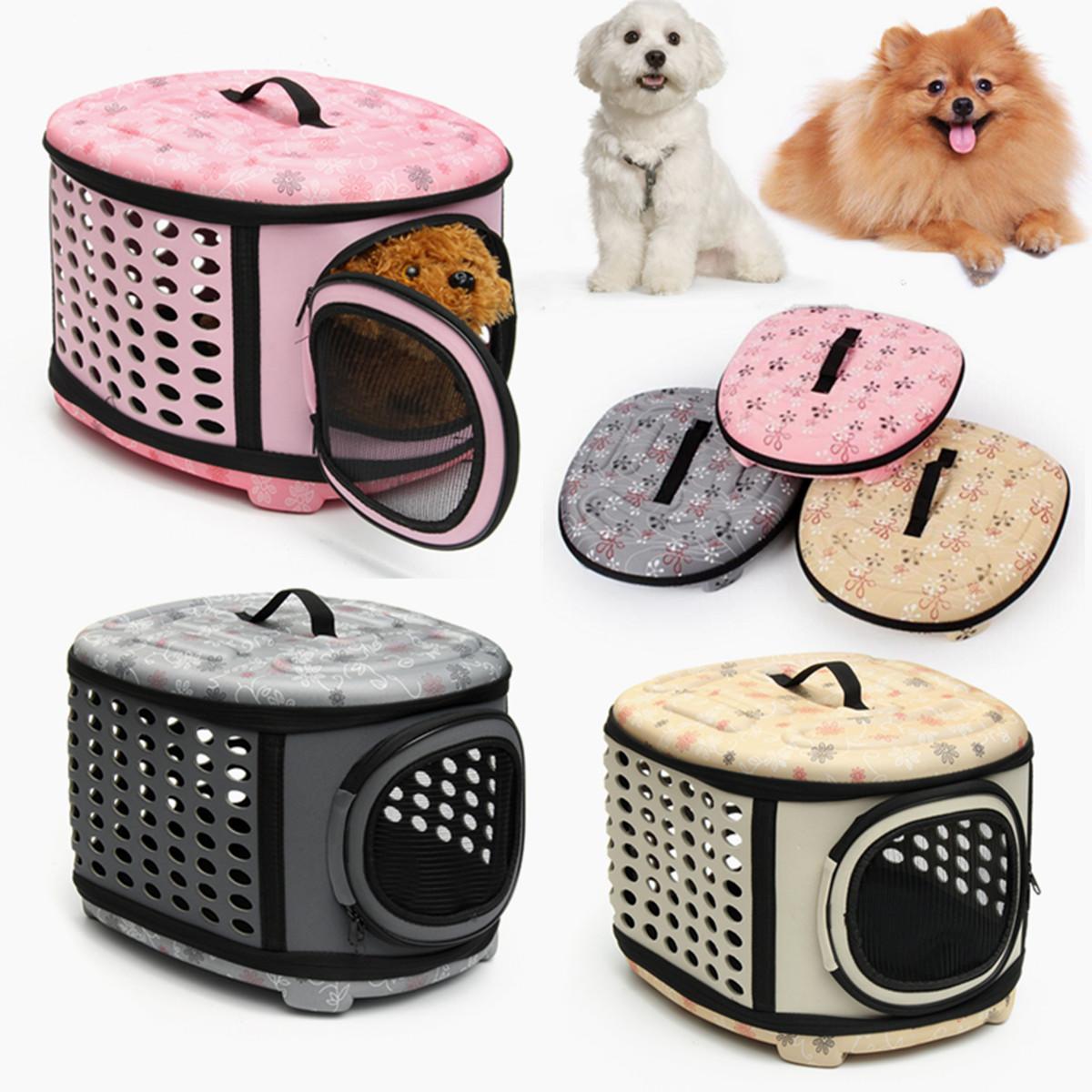 portable soft pet crate