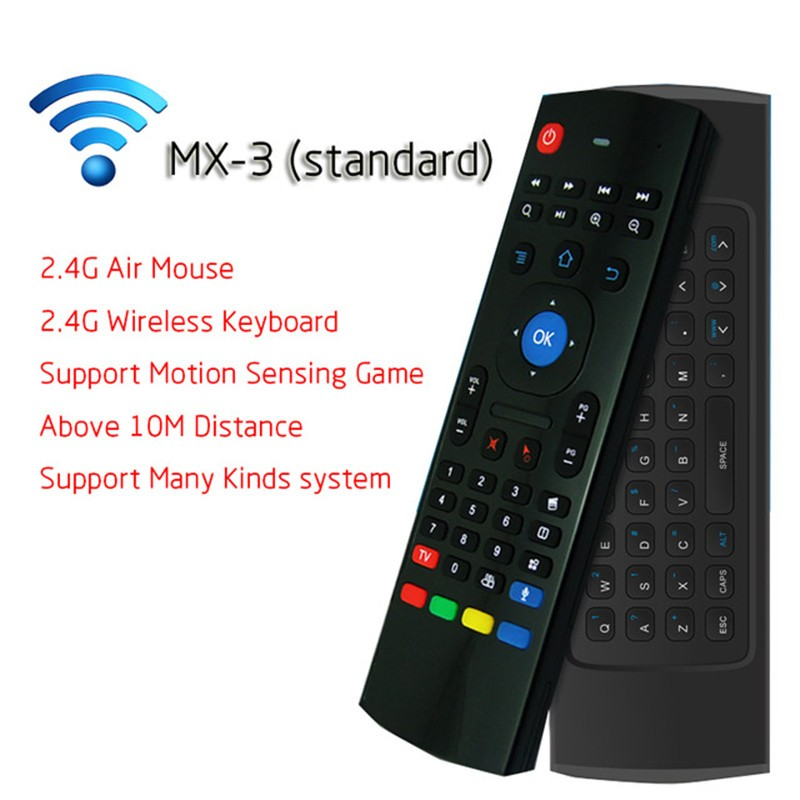 03b7c0e3ee8 2.4g wireless remote control air mouse wireless keyboard with motion ...