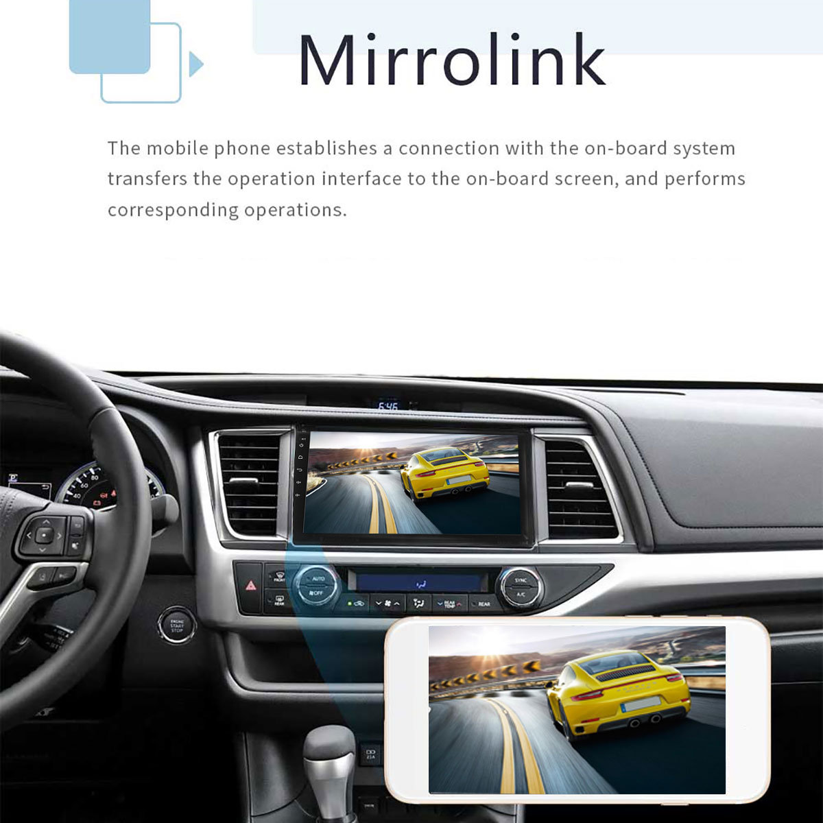 9 Inch 2 DIN 1+16G Car MP5 Player Quad Core Stereo Radio IPS Touch Screen bluetooth DAB DVR 17