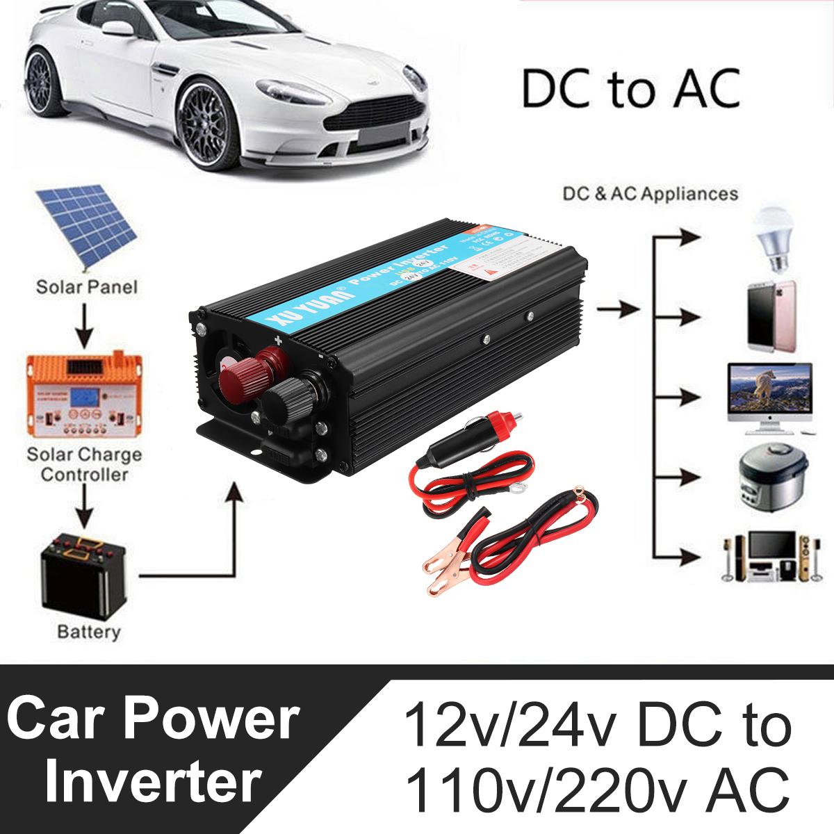 4000W DC12/24V To AC110V/220V Solar Inverter
