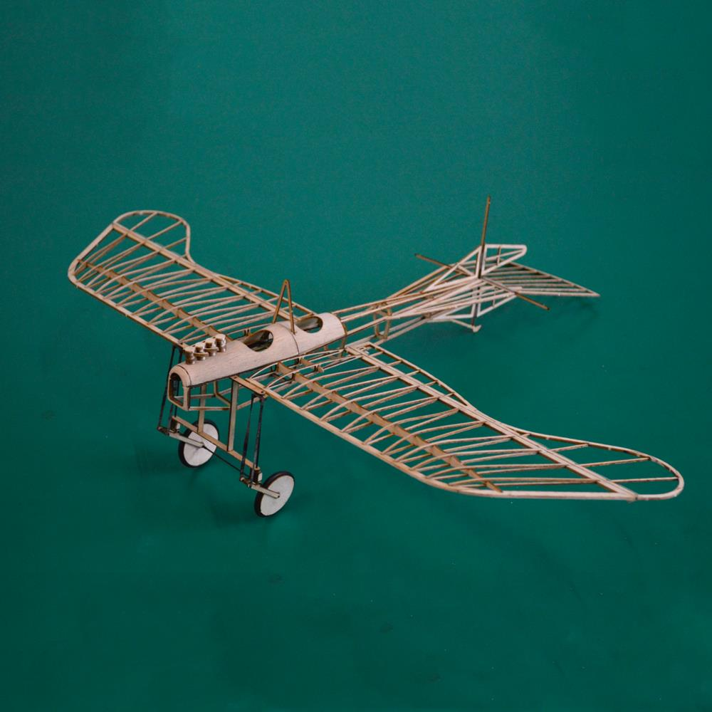 Etrich Taube 420mm Wingspan Monoplane Balsa Wood Laser Cut RC Airplane Kit With Power System