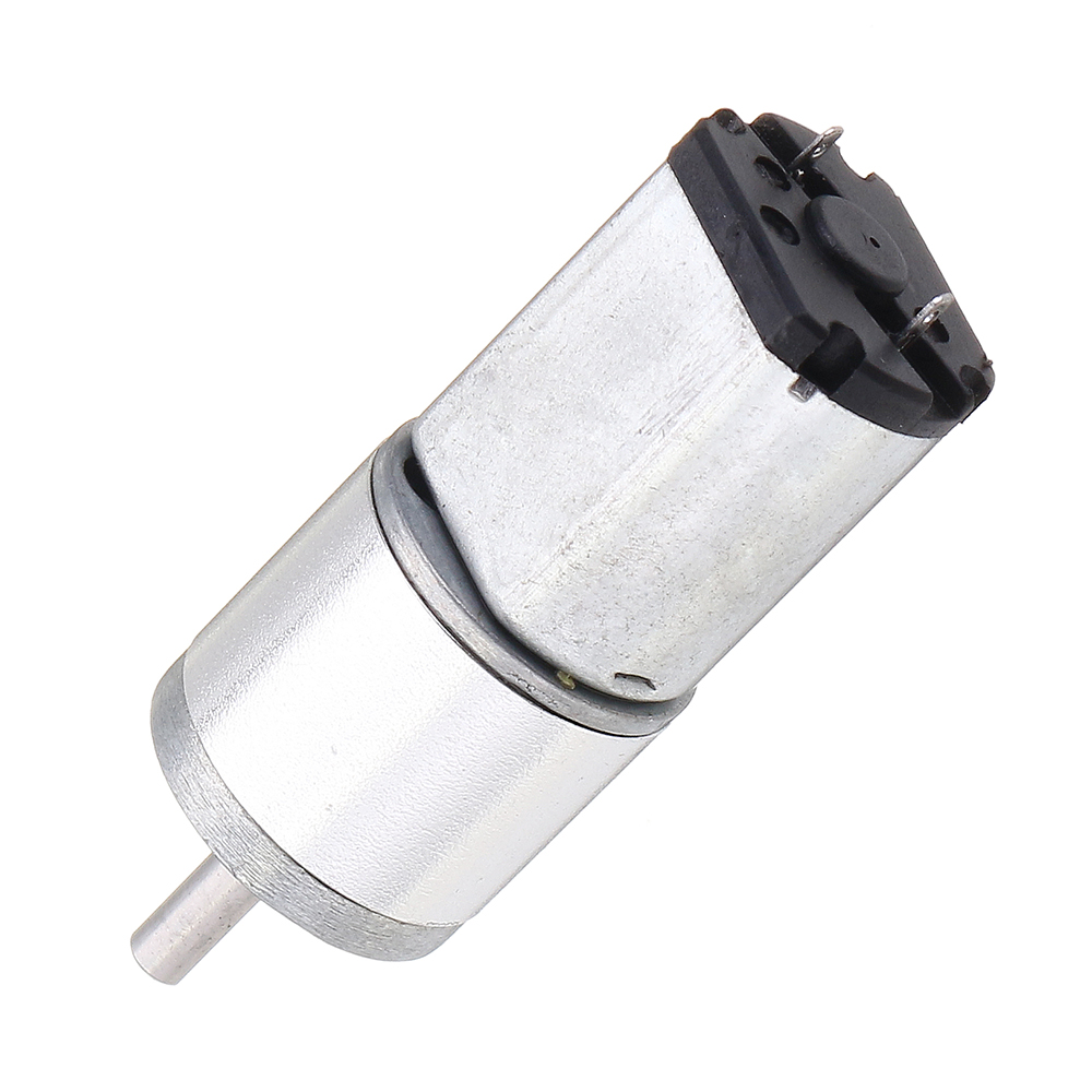 Machifit 16GA030 12V 65rpm DC Speed Reduction Gear Motor With Metal Gearbox For Robots /Cars