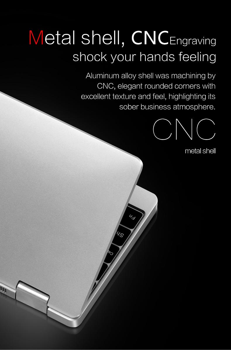 ONE-NETBOOK One Mix 2s M3-8100Y 3.4GHz 8GB RAM 256GB PCI-E SSD 7 Windows 10 Tablet