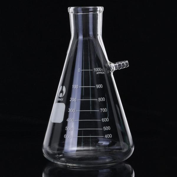 1000mL Filteration Buchner Funnel Kit Vacuum Suction Gl
