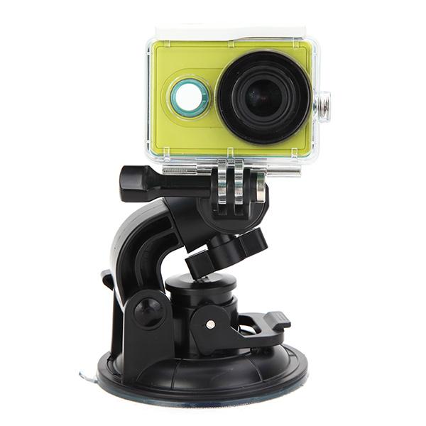 Телесин большой всасывающей размер чашки кронштейна держатель для AEE Gopro сони AS15 AS30 камера действия спорта